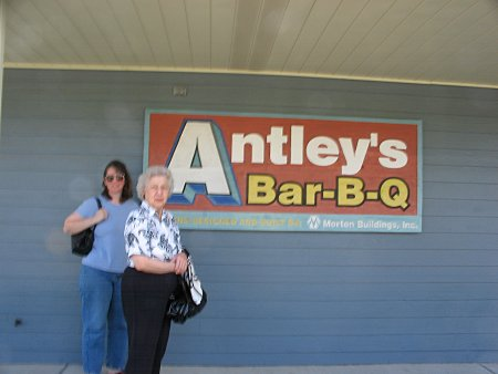 [Antley's sign]