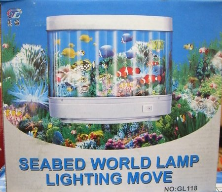 [Seabed World Lamp Lighting Move]