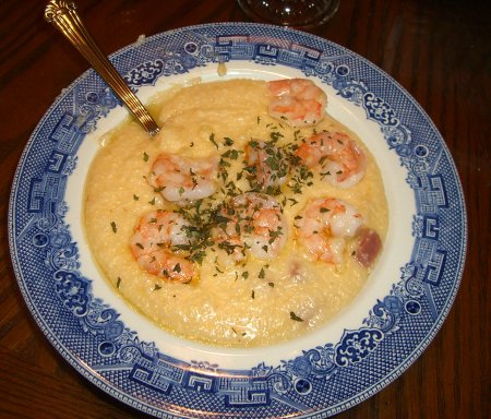 [Shrimp and grits]