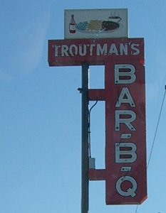 [Troutman's sign]