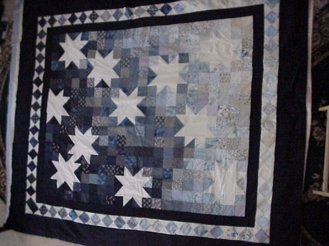 [Starry Night Quilt view #1]