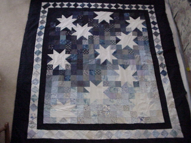 [Starry Night Quilt view #2]
