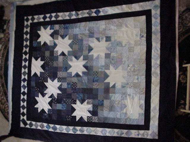 [Starry Night Quilt view #3]