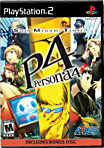 Persona 4, for the Playstation 2