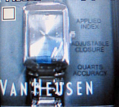 A very accurate Van Heusen watch